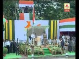 CM Mamata Banerjee hoisting flag on Independence Day