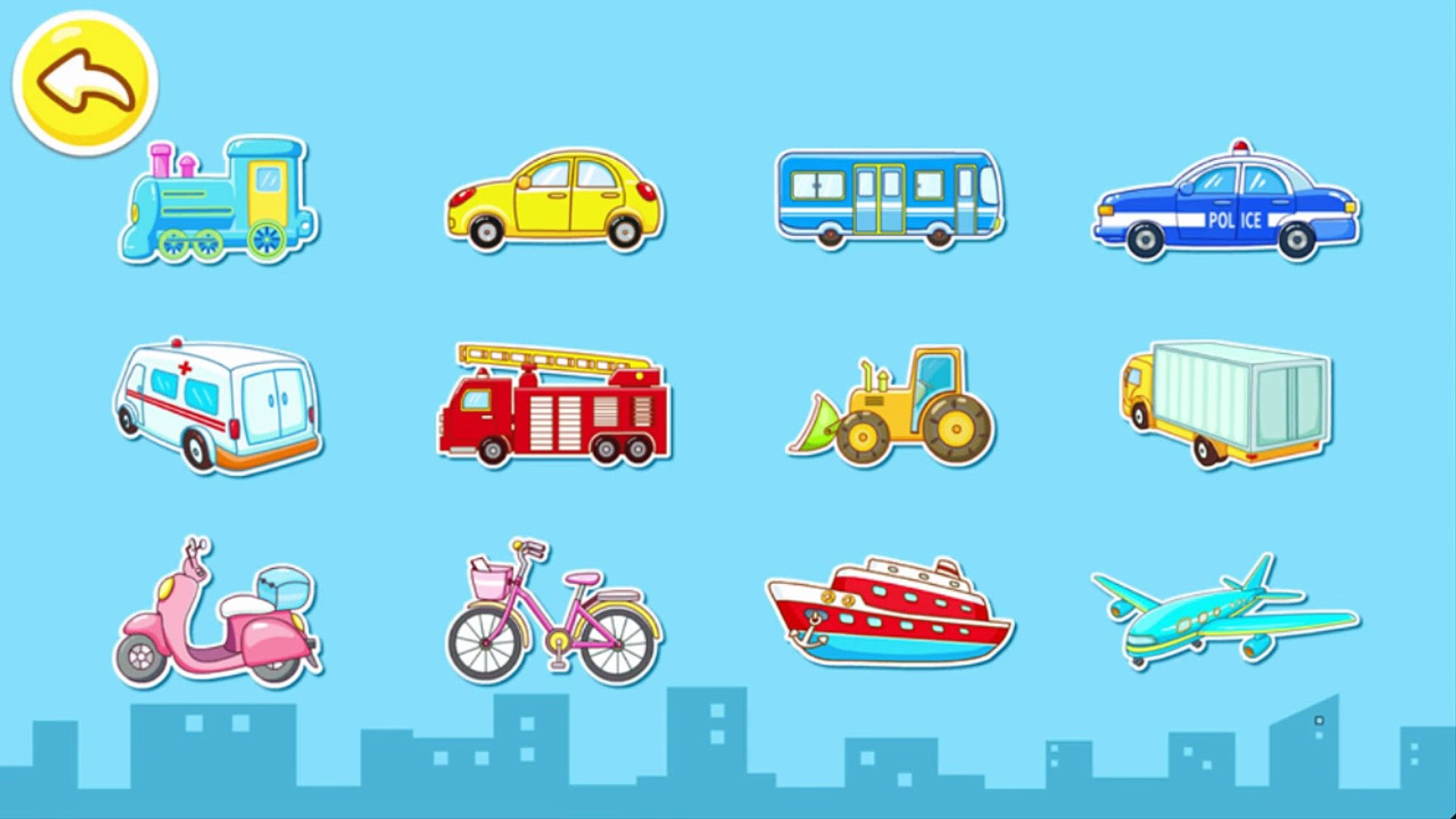 Transport Babybus - Kids learn Vehicles with Baby Panda Street Education