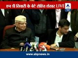 Watch Full PC: ND Tiwari accepts Rohit Shekhar as his biological son