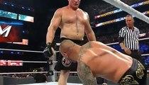 Wwe Raw 29_08_2016 Brock Lesnar attacks Randy Orton Again Again Again