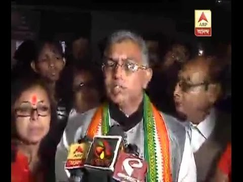 Bengal BJP president Dilip Ghosh supports RSS workers who beat up USDF supporters