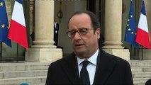 """François Hollande : """"Quand Berlin est attaqué par les terroristes, nous sommes aux côtés des Berlinois"""""""