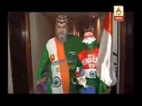 Asia Cup T20: When Pakistani Chacha helped Sudhir paint his head with the colours of India