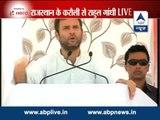 Rahul Gandhi slams BJP over medical facilities in Rajasthan