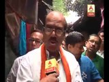 TMC candidate Javed Khan campaigns