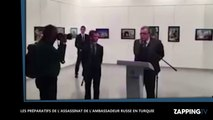 Assassinat de l'ambassadeur russe en Turquie: Les effrayantes secondes du tueur avant le drame (Vidéo)