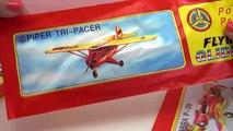 Power Prop Flying Gliders Styroporflugzeuge Nr 4, Nr 5 und Nr 12