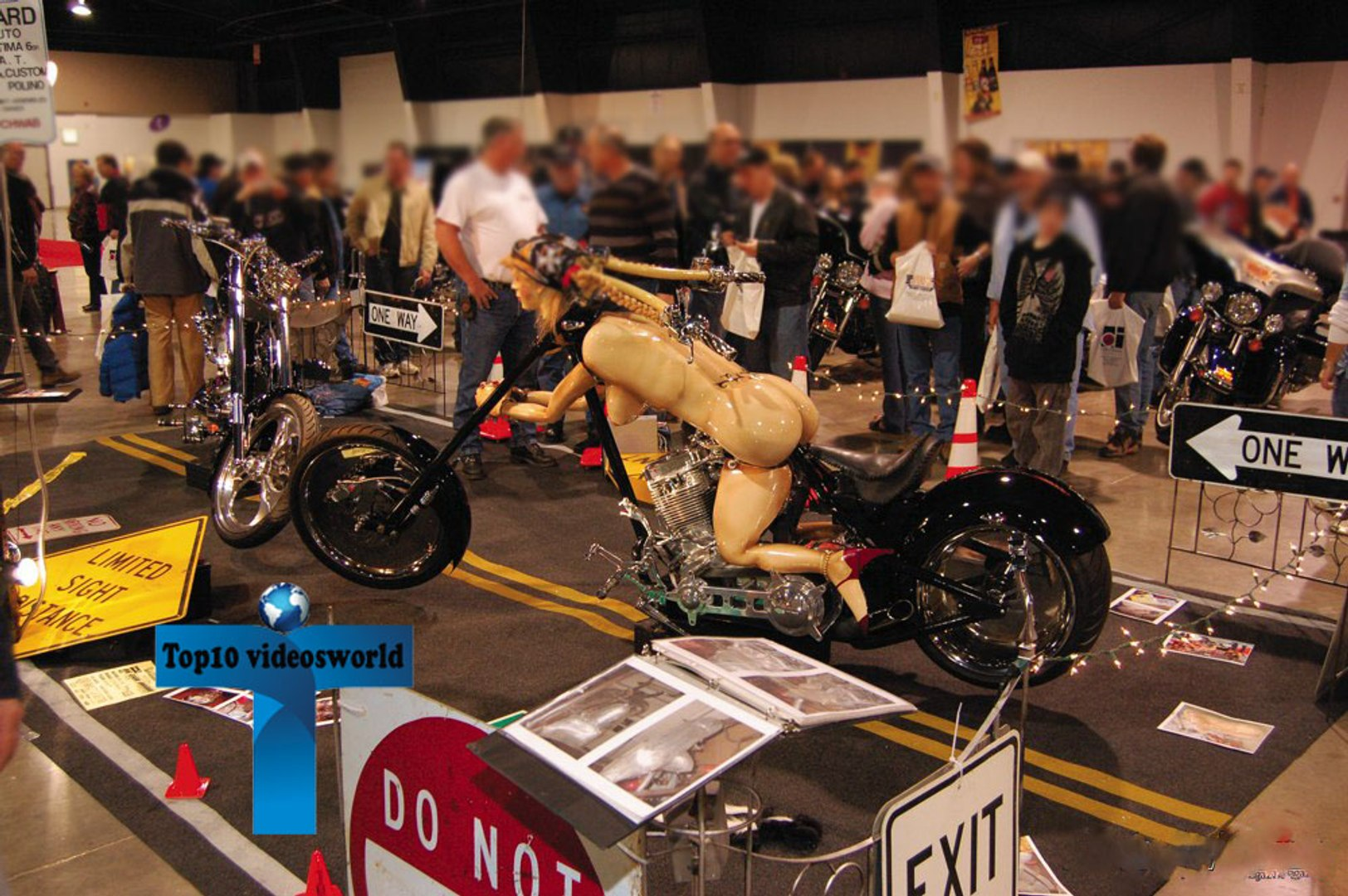 Most Funny and Bizarre Motorcycles Around the World