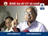UP BJP chief Laxmikant Bajpai threatens Moradabad administration