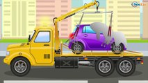 The Tow Truck helps Cars   Emergency Vehicles   Cars & Trucks cartoons for kids