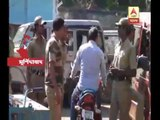 Clash between public and police at Murshidabad's Bharatpur police station area