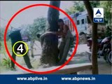 ABP News special: Man accused of carrying stolen pulses brutally assaulted by UP police