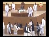 TMC MLA snatches Speaker's mace in Tripura Assembly