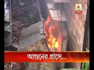 Patipukur fire kills two, guts many homes