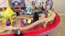 Cars 1 Radiator Springs Race Track and Train Table Wooden Disney Cars Cars Land McQueen HXCSE4MZ04M