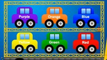 Colors for Kids to Learn with Car Toys for Children   Vehicles Videos for Children to Learn