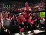 WWE - The Rock Pedigrees Triple H
