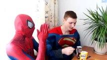 FROZEN ELSA BALLOON PRANK ★ Spiderman Joker Hulk Prank Superhero in Real Life Movies