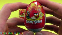 Angry Birds Surprise Eggs Opening - Angry Birds Surprise Eggs Toys