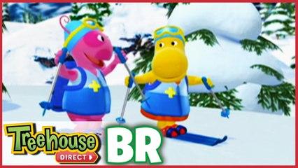 Os Backyardigans |  Patrulheiros do esqui na neve!