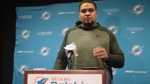 Mike Pouncey says hip injury from 2014 is unrelated to current injury