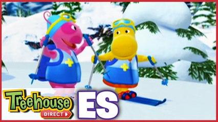 Os Backyardigans    ¡Patrulleros del esquí en la nieve!