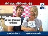 ABP LIVE II Cricketer Jonty Rhodes names his new born India Jeanne Jonty Rhodes
