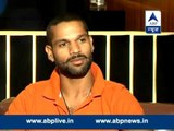 ABP News exclusive: Shikhar Dhawan shares his cricketing story