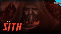 Top 10 Sith Lords!