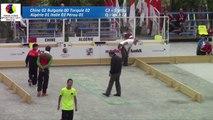 Premier passage qualification, Tir de précision U23, Sport Boules, Mondial Jeunes, Monaco 2016