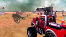 Dinosaurs Cartoons for Children | Monster Truck Vs Dinosaurs | Monster Truck Toys For Children