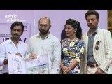 Nimrat Kaur, Irrfan Khan And Nawazuddin Siddiqui Attend The DVD Launch Of 'The Lunchbox'