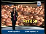 Prices of Onions soar; one kg available at Rs 50