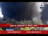 Fire breaks out in a Kandivali godown, multiple explosions heard