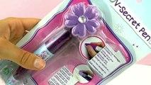 Violetta V-secret Pen | Unsichtbare Schrift für geheime Botschaften ! | Tagebuch Violetta