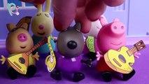 Peppa Pig Juguetes en Español  Los instrumentos musicales ᴴᴰ ❤️
