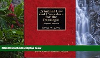 Buy James W. H. McCord Criminal Law and Procedure for the Paralegal : A Systems Approach Full Book