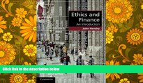 Pre Order Ethics and Finance: An Introduction (Cambridge Applied Ethics) Professor John Hendry