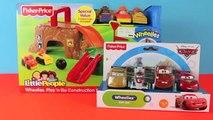 Wheelies Disney Cars Play Doh Construction Site Play 39 n Go Wheelies Lightning McQueen Mater