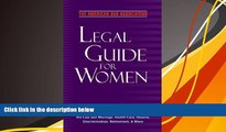 Online The American Bar Association The American Bar Association Legal Guide for Women: What every