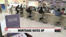 Korea's mortgage rates climb on U.S. Federal Reserve rate hike