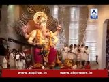 Mumbai: Offerings being made to the famous Lalbaugcha Raja on the occasion of Ganesh Chatu