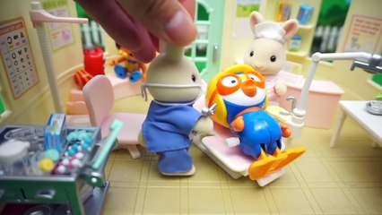 Pororo and Magic Color Sand play Insect Pororo hospital play and Liquid monster