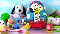 PEANUTS MOVIE Snoopy & Woodstock Play Doh Surprise Egg   McDonalds Happy Meal Toys   Funko Pops  