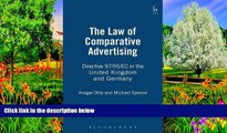Read Online Michael Spence The Law of Comparative Advertising: Directive 97/55/EC in the United