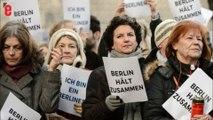 """Réfugiés et Berlinois chantent ensemble """"We are the world"""""""