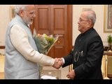 PM Narendra Modi meets President Pranab Mukherjee amid currency ban chaos