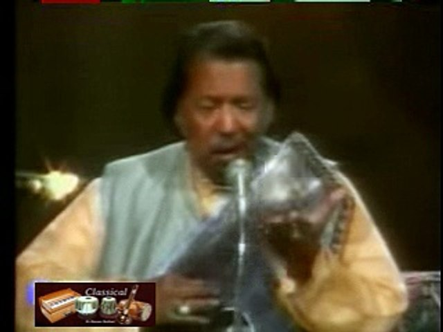 Ustad Salamat Ali Khan - Raag Darbari - Khayal aur Tarana - Bandish Sur Say Pyar Kariye Manwa