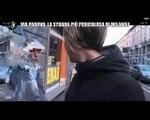 Le Iene, Toffa incontra un andriese in Via Padova a Milano