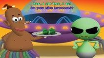 Do You Like Broccoli Ice Cream lyrics song lead vocal | Nursery Rhymes TV | Ultra HD 4K Music Video